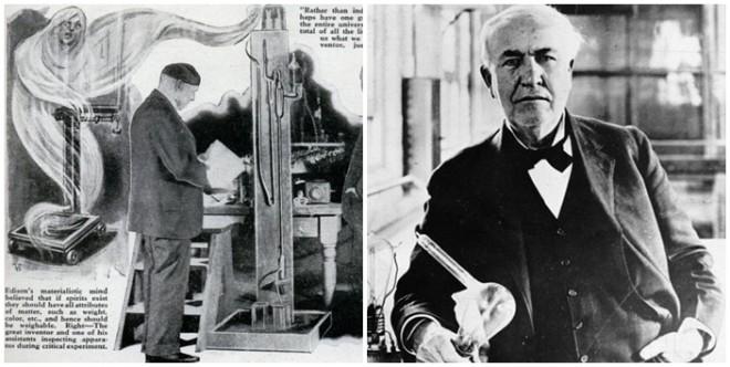 Edison eltitkolt kutatása: SZELLEMGÉP, amely képes kommunikálni  a halottakkal